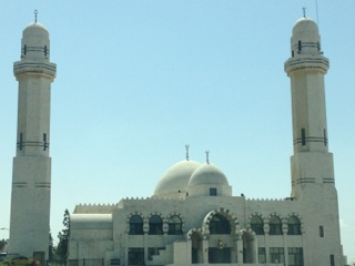 One of my favorite mosques near our home.