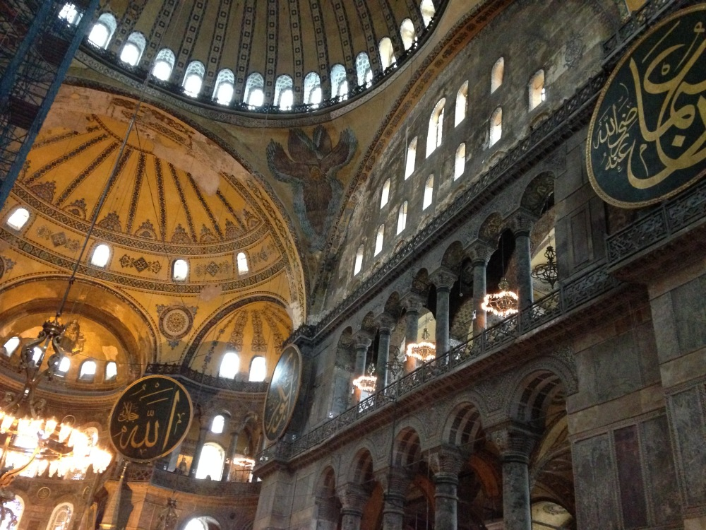 Built originally as a Greek Orthodox basilica, the Hagia Sophia was converted into a mosque in 1453 and then a museum in 1935.