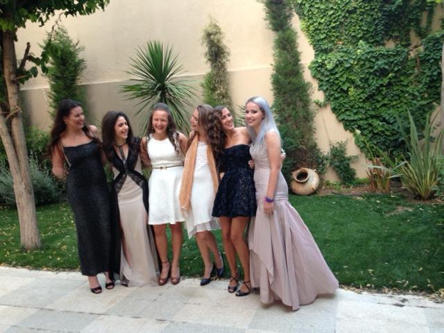 The lovely girls.